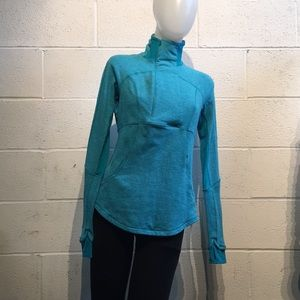 Lululemon blue pullover jacket with zipper 60122